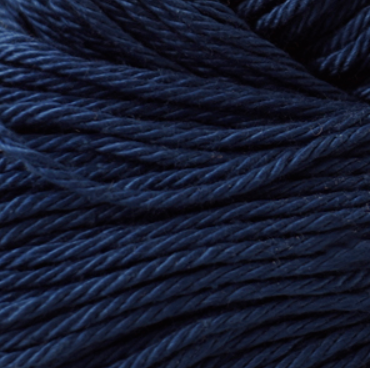 Cascade Noble Cotton Yarn in Navy - brewstitched.com