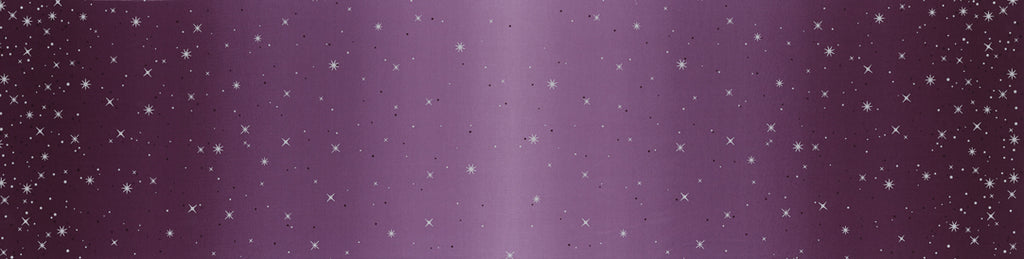Ombre Fairy Dust Aubergine - Priced by the Half Yard - brewstitched.com