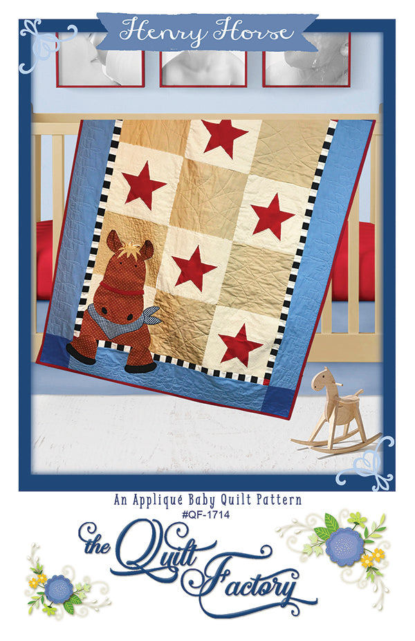 Henry Horse Applique Quilt Pattern