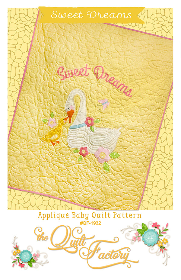 Sweet Dreams Applique Quilt Pattern