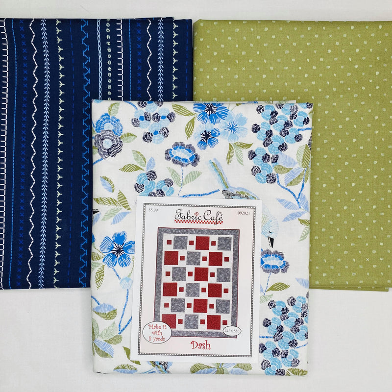 Serenade Dash 3 Yard Quilt Kit - brewstitched.com