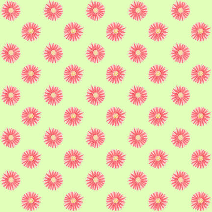 Let's Flamingle Small Floral - Priced by Half Yard - brewstitched.com