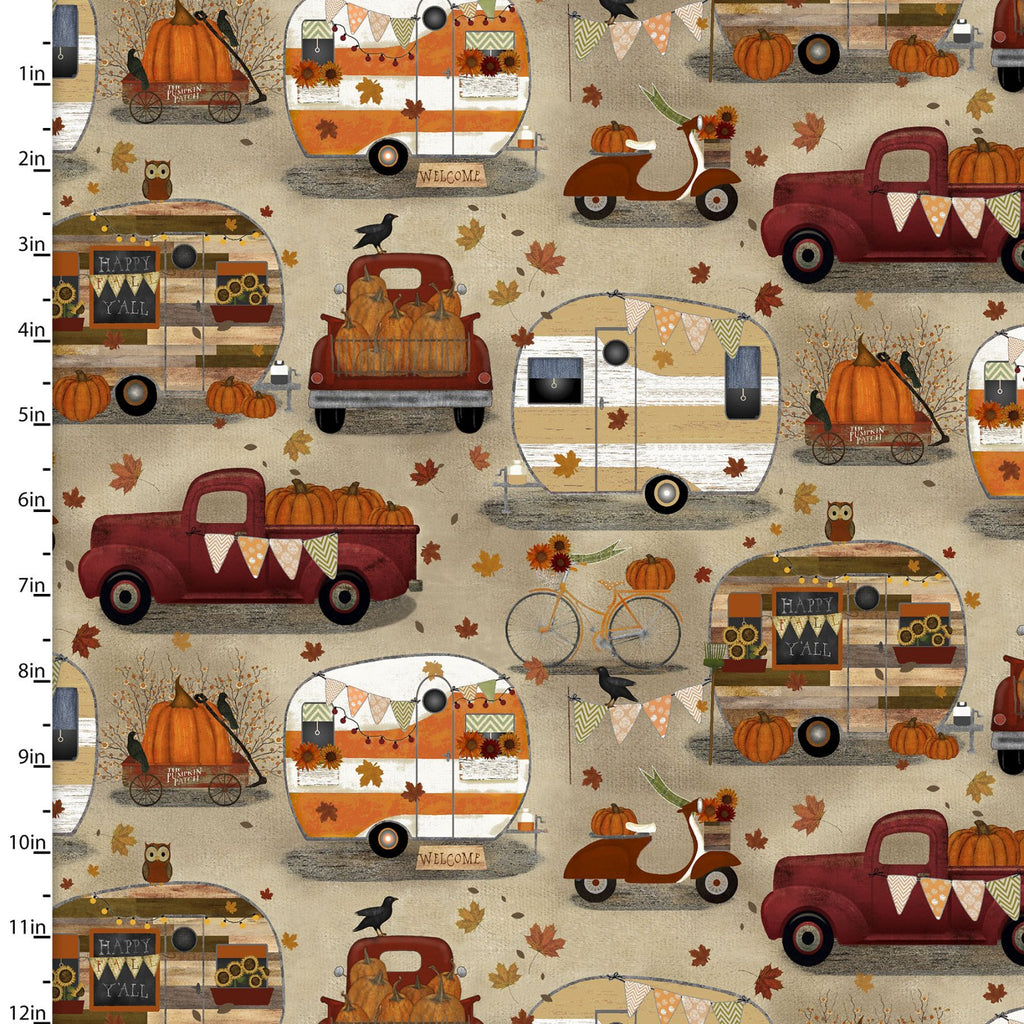 Harvest Camper - Coming August 2020 - brewstitched.com