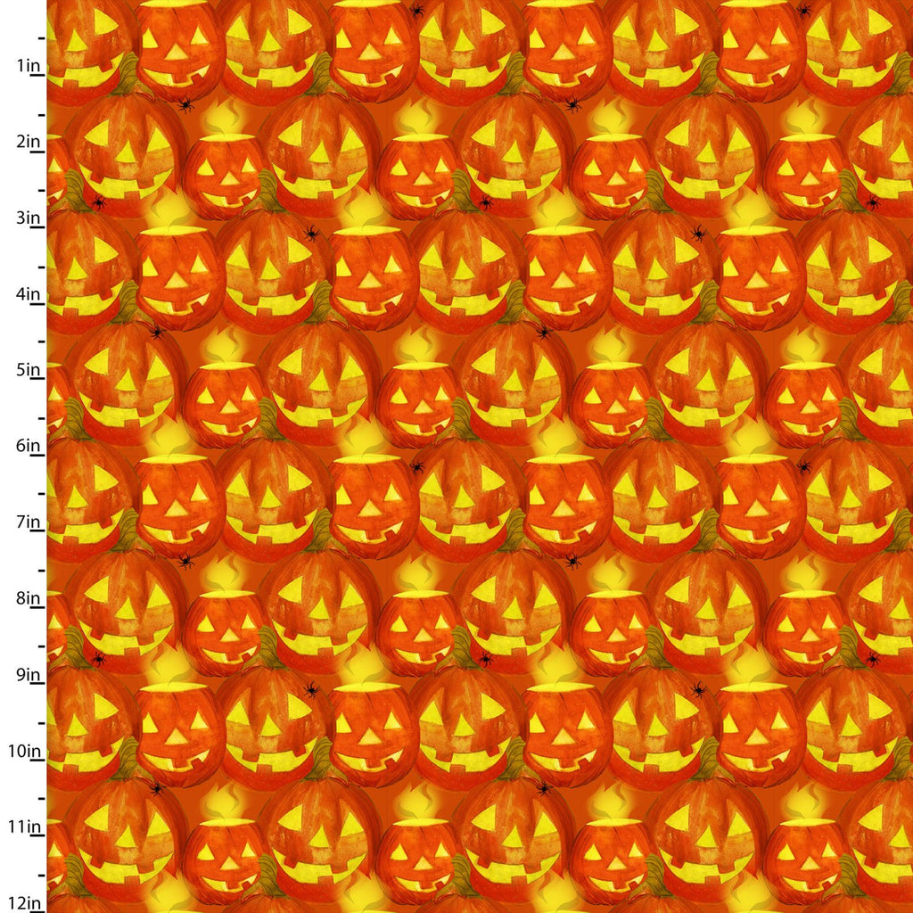 Ghost Party Orange Jack O'lanterns - Coming August 2020 - brewstitched.com