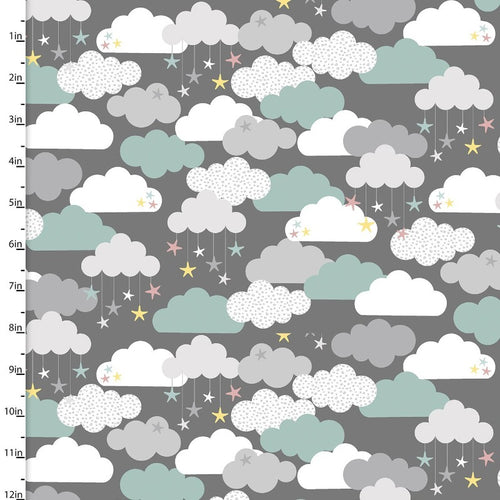 Small and Mighty Flannel Clouds - Priced by the Half Yard - Expected Feb 2021 - brewstitched.com