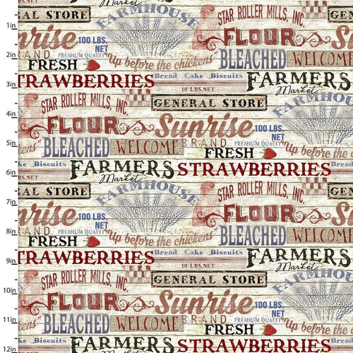 Patriotic Summer General Store - Priced by the Half Yard - Expected Feb 2021 - brewstitched.com