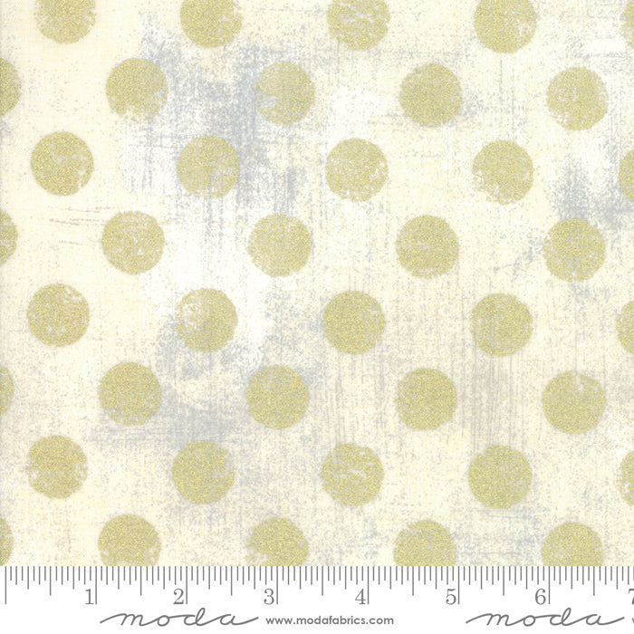 Grunge Hits The Spot Metallic Creme - Priced by the Half Yard - brewstitched.com