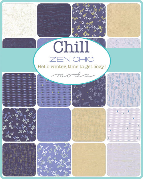 Chill by Zen Chic Mini Charm Pack - brewstitched.com