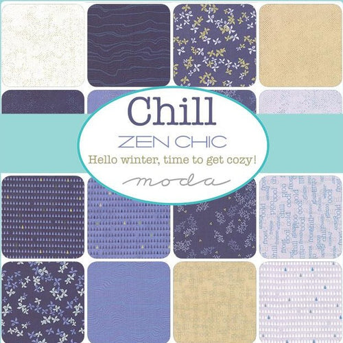 Zen Chic Chill Mini Charm Pack - brewstitched.com