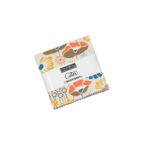 Cider by Basic Grey Mini Charm Pack - brewstitched.com