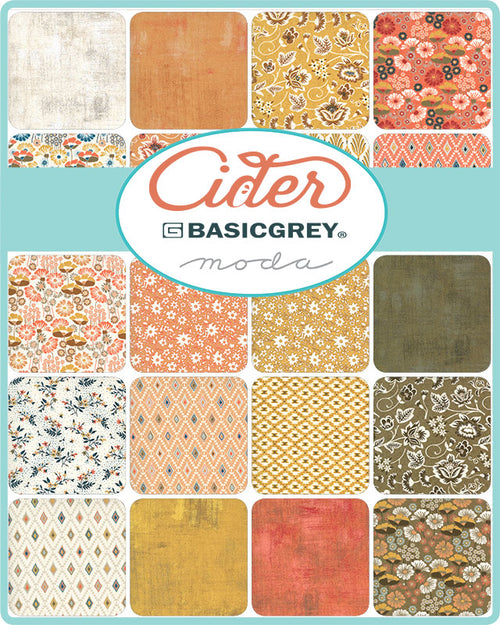 Apple Jack Quilt Kit featuring Cider by Basic Grey - brewstitched.com