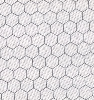 Chicken Wire White - Priced by the Half Yard - brewstitched.com