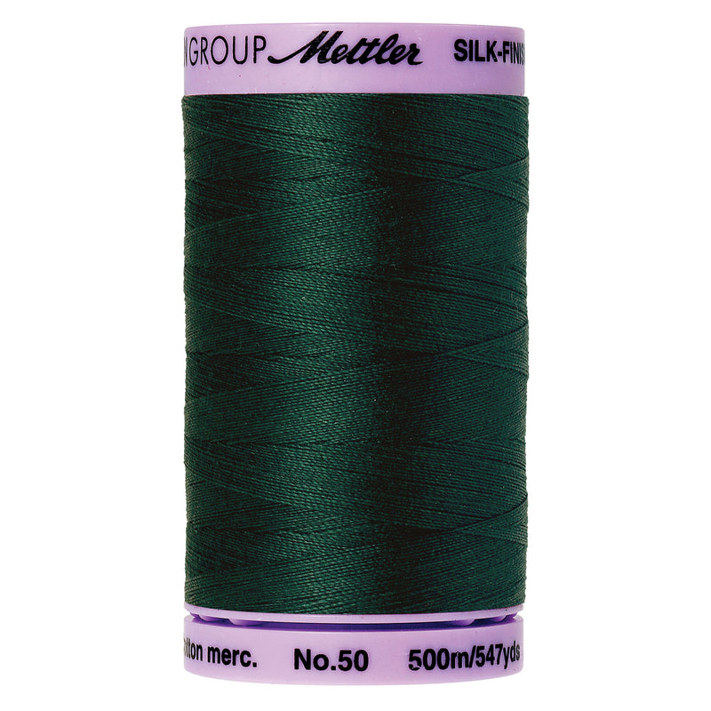 Mettler 50 weight Cotton Thread in Swamp 9104 0757 - brewstitched.com