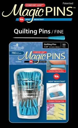 Magic Pins Quilting Fine 50 pieces - brewstitched.com