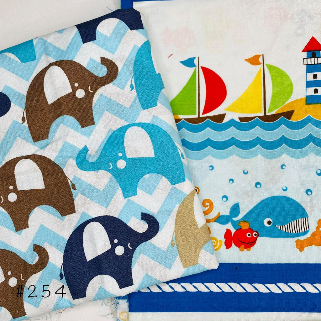 Fabric Destash #254 - brewstitched.com