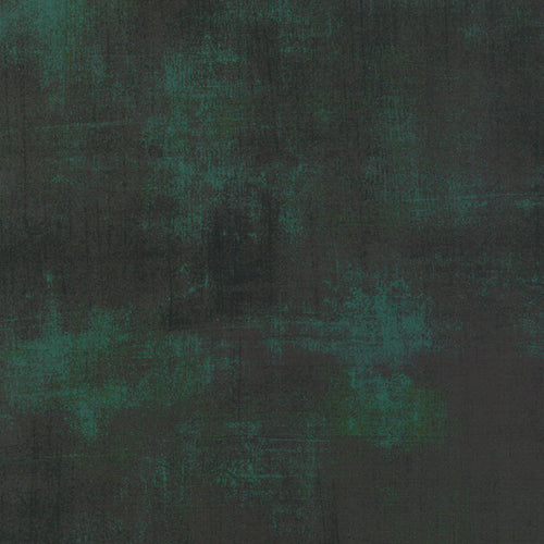 Grunge Christmas Green - Priced by the Half Yard - brewstitched.com
