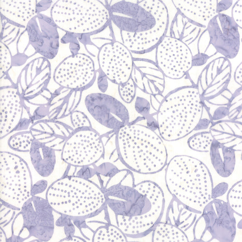 Aloha Batiks Aloha Purple Leaf - Priced by the Half Yard - brewstitched.com