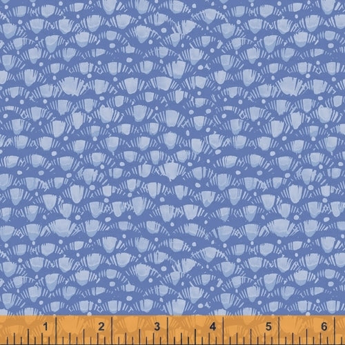Fox Woods Lea Blue - Priced by the Half Yard - brewstitched.com