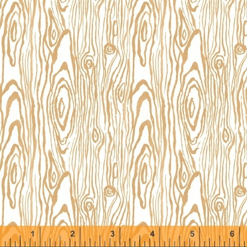 Fox Woods Faux Bois Melon - Priced by the Half Yard - brewstitched.com