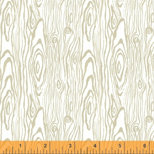 Fox Woods Faux Bois Ash - Priced by the Half Yard - brewstitched.com
