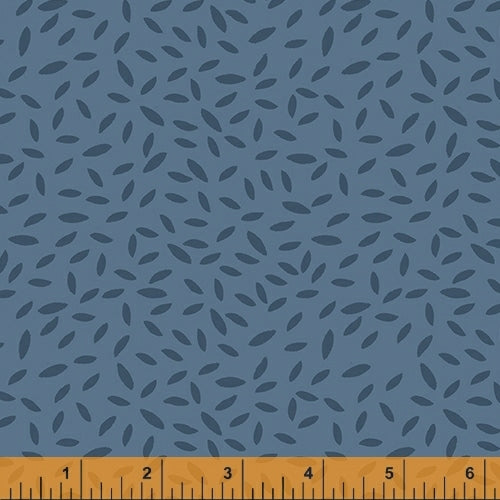Kenzie Dusk Sprinkled Leaves - Priced by the Half Yard - brewstitched.com