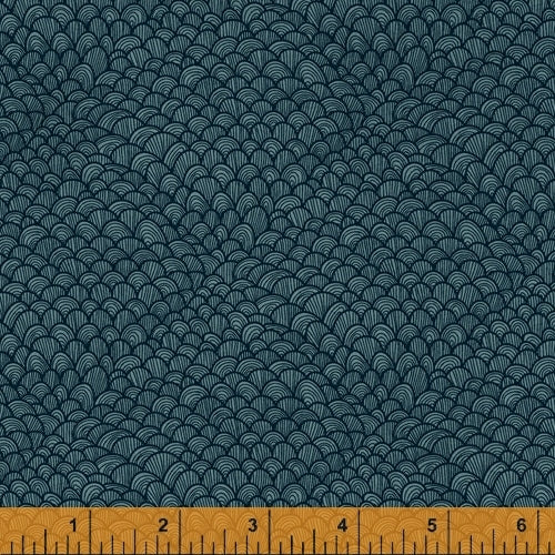 Whale Tales Ocean Waves - Priced by the Half Yard - brewstitched.com