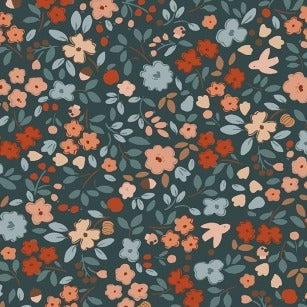 Country Mouse Autumn Floral - Priced by the Half Yard - brewstitched.com