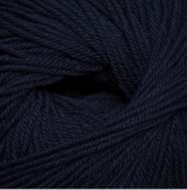 Cascade 220 Superwash Yarn in Navy 854 - brewstitched.com