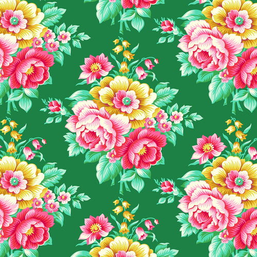 True Kisses Rose Green - Priced by the Half Yard - brewstitched.com