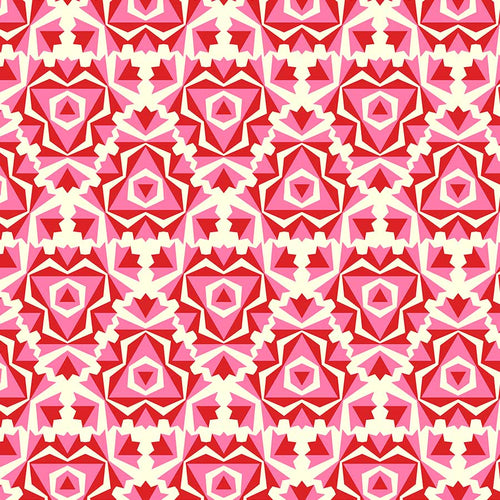 True Kisses Kaleidoscope Pink - Priced by the Half Yard - brewstitched.com