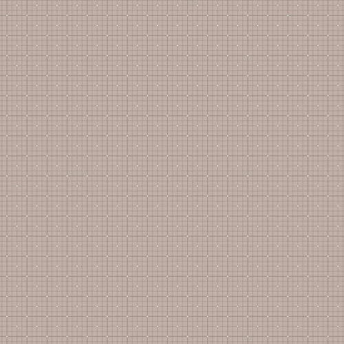 Serenity Grid Taupe - Priced by the Half Yard - brewstitched.com