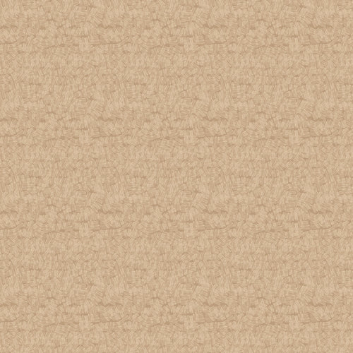 Serenity Scribble Caramel- Priced by the Half Yard - brewstitched.com