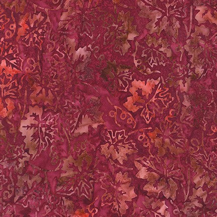 Artisan Batiks: Impressions of Tuscany 2 Sangria - Priced by the Half Yard - brewstitched.com
