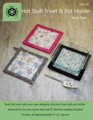 Hot Stuff Trivet and Pot Holder Large with Silicone Overlay - brewstitched.com