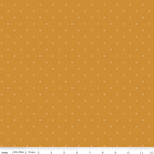 Bee Cross Stitch Butterscotch - Priced by the Half Yard - Expected Jan 2021 - brewstitched.com
