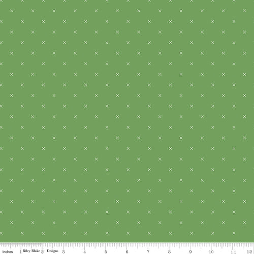 Bee Cross Stitch Clover - Priced by the Half Yard - Expected Jan 2021 - brewstitched.com