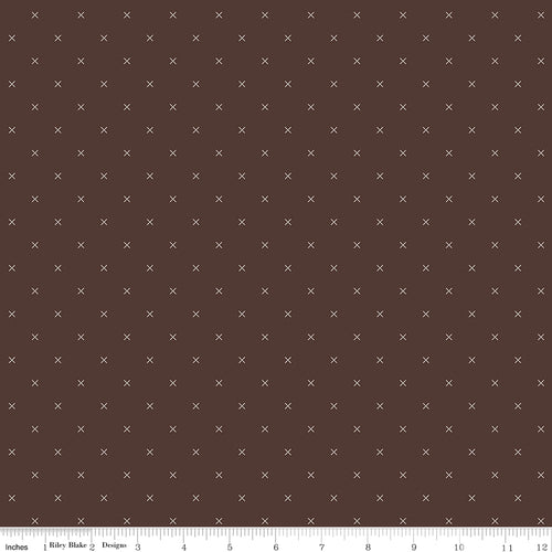 Bee Cross Stitch Raisin - Priced by the Half Yard - Expected Jan 2021 - brewstitched.com
