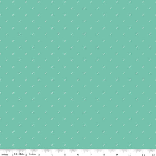 Bee Cross Stitch Sea Glass - Priced by the Half Yard - Expected Jan 2021 - brewstitched.com