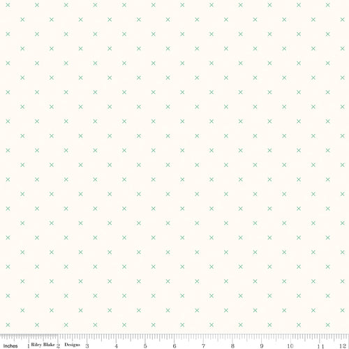 Bee Cross Stitch on Cloud Alpine - Priced by the Half Yard - Expected Jan 2021 - brewstitched.com