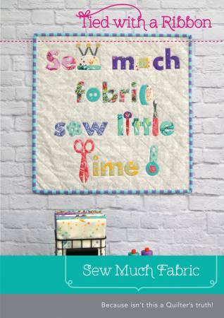 Sew Much Fabric Quilt Paper Pattern from Creative Abundance - brewstitched.com