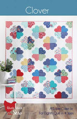 Clover Quilt Paper Pattern from Cluck Cluck Sew - brewstitched.com