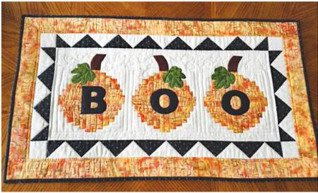 Boo To You Quilt Paper Pattern from Cut Loose Press - brewstitched.com