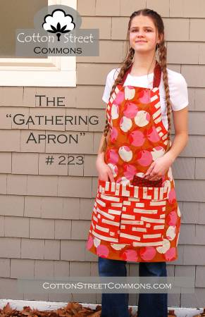 "The ""Gathering Apron"" Paper Pattern - brewstitched.com"