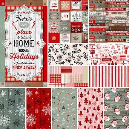 Christmas Memories Fat Quarter Bundle - brewstitched.com