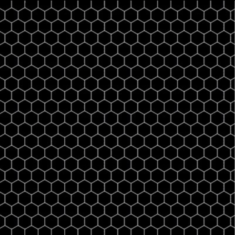 Queen Bee Black Honeycomb - Priced by the Half Yard - brewstitched.com