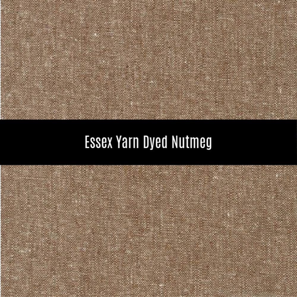 Essex Yarn Dyed Linen in Nutmeg - Priced by the Half Yard - brewstitched.com