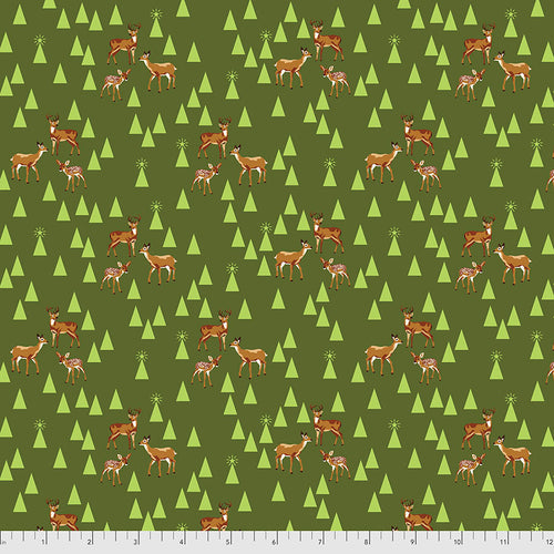 Holiday Homies Flannel Road Trip Pine Fresh - Priced by the Half Yard - Expected June 2021 - brewstitched.com