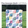 The Georgie Quilt Paper Pattern from Kitchen Table Quilting - brewstitched.com