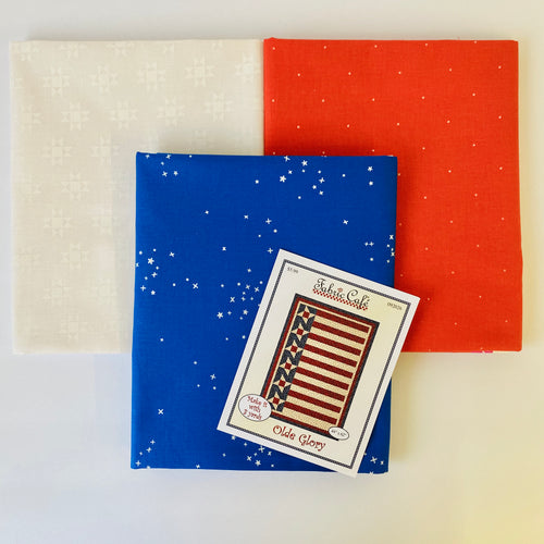 Patriotic Olde Glory 3 Yard Quilt Kit - brewstitched.com