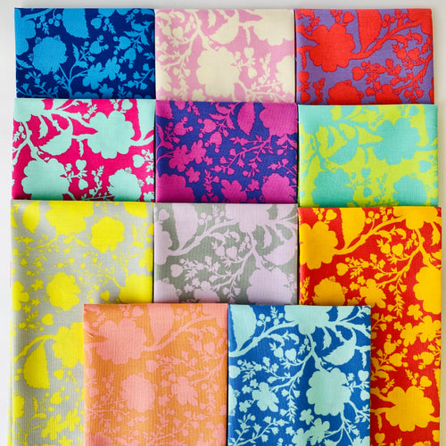 Tula's True Colors Wildflower Fat Quarter Bundle - Includes 11 Prints - brewstitched.com